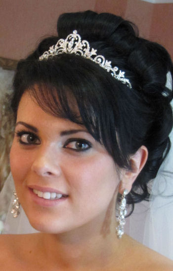 © bridal hair and wedding styles by Helen Tozer 3 - Aimee