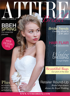 © Bridal Hair by Helen - Attire Magazine March-April 2011