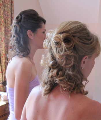 Bridesmaids Wedding Hair - Emma