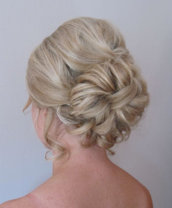 © Bridesmaids Wedding Hair - Gerri