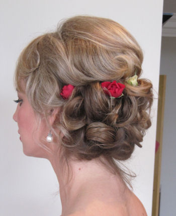 © Bridesmaids Wedding Hair - Lianne BM 1