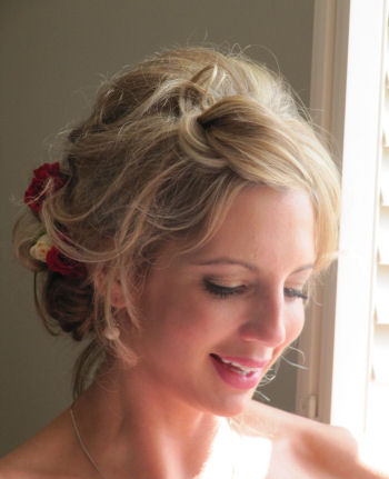 Bridesmaids Wedding Hair - Lianne BM 2