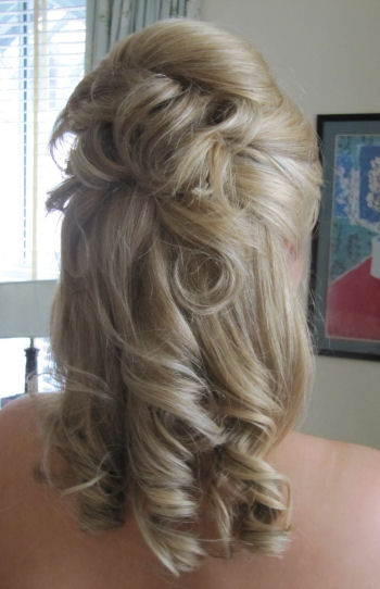 © Bridesmaids Wedding Hair - Natalie 2
