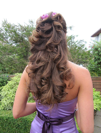 © Bridesmaids Wedding Hair Style - Tash